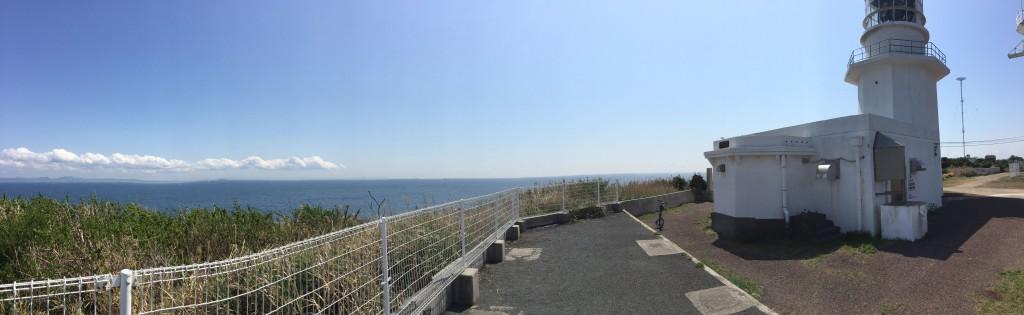 劔崎灯台パノラマ